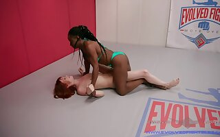 strong Alexa Nova is ready for a lesbian sex and pussy eating on the floor