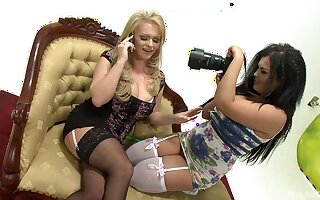 Jasmine Black talked a naughty girl into sharing toys with her