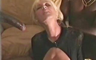 Aged darksome cum loving slut