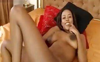 Kim_Morris playing with a vibrator