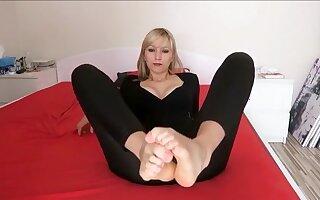 Amazing amateur Blonde, MILF adult movie