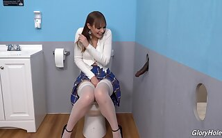 Gloryhole perfection shows burnish apply young amateur botch moving down wild on burnish apply BBC
